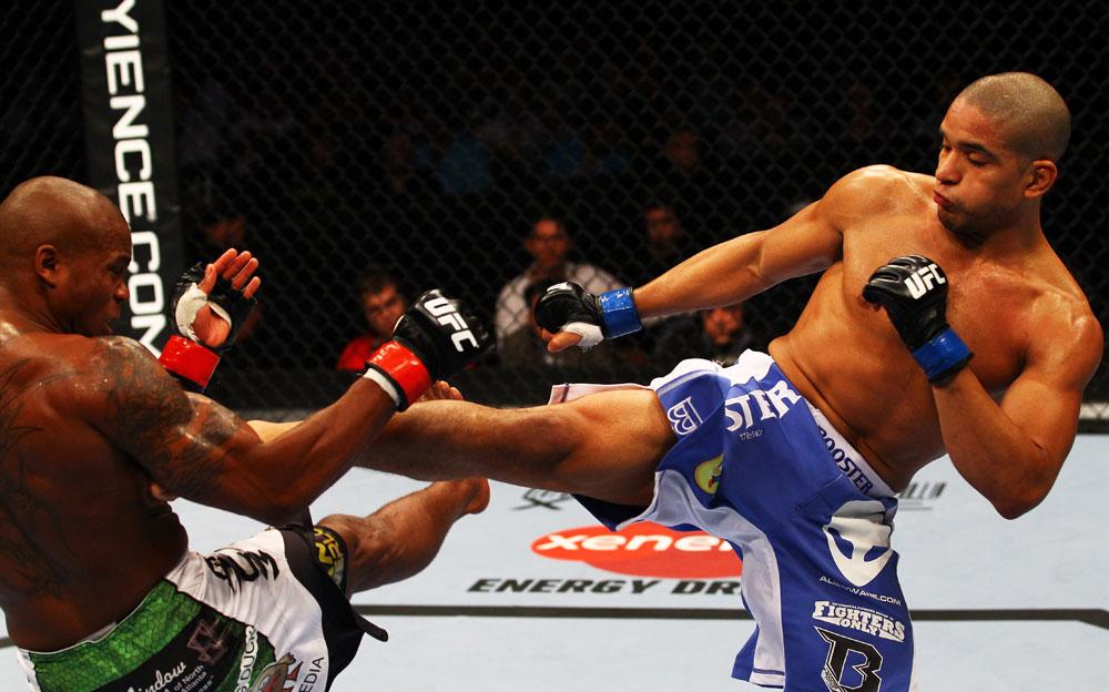 UFC featherweight Maximo Blanco