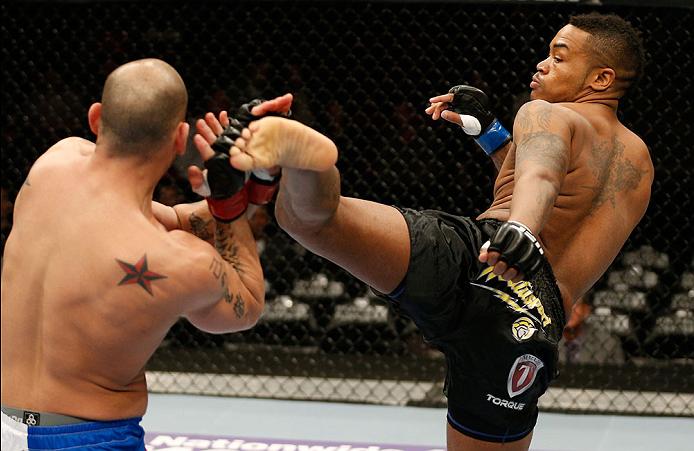 UFC welterweight Mike Rhodes