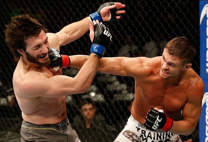 UFC lightweight Daron Cruickshank