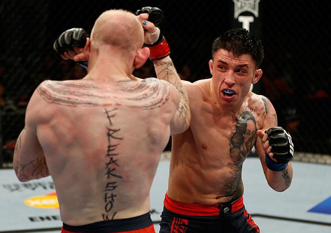 UFC lightweight Norman Parke