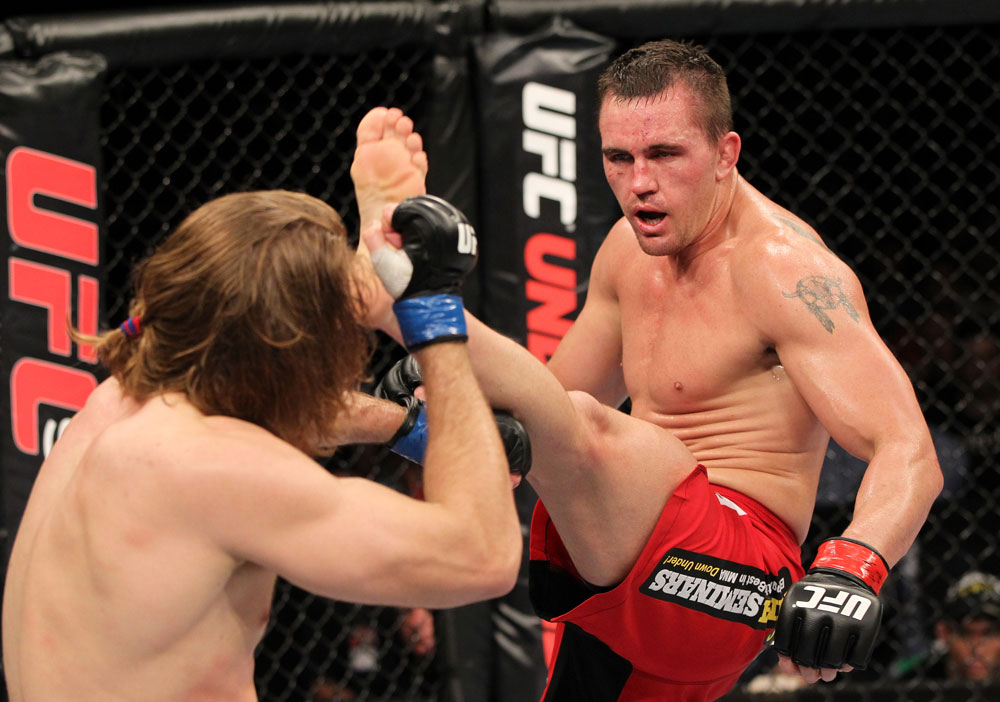 UFC welterweight Kyle Noke