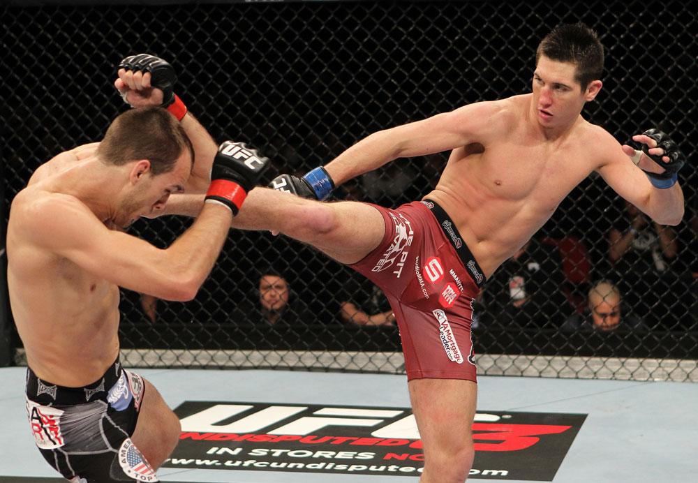 UFC featherweight Steven Siler