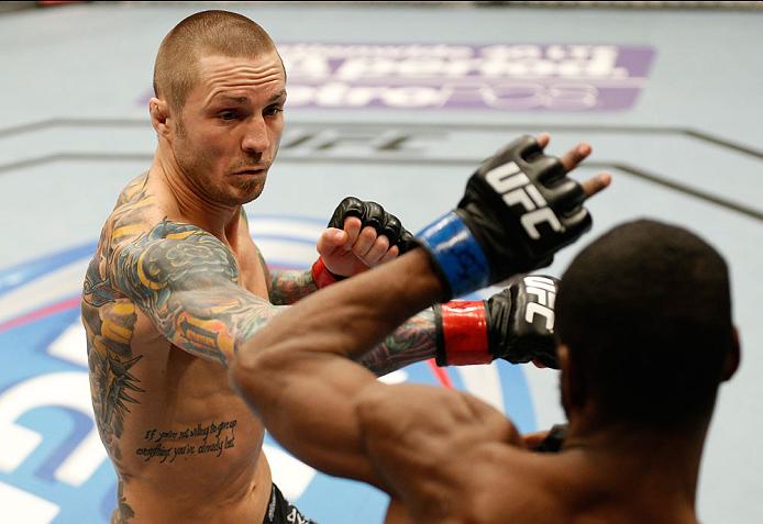 UFC bantamweight Eddie Wineland