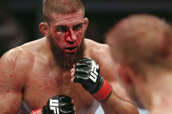 UFC welterweight Court McGee
