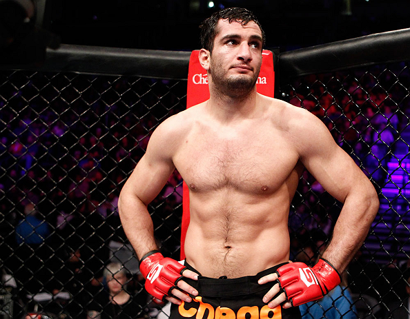 UFC light heavyweight Gegard Mousasi