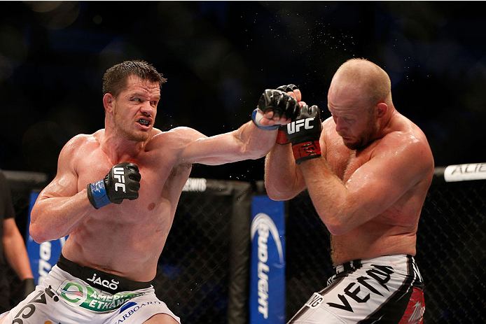 UFC middleweight CB Dollaway