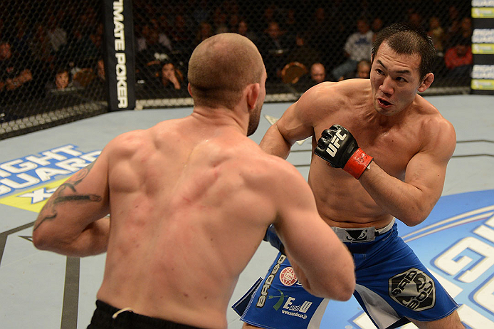 UFC middleweight Yushin Okami