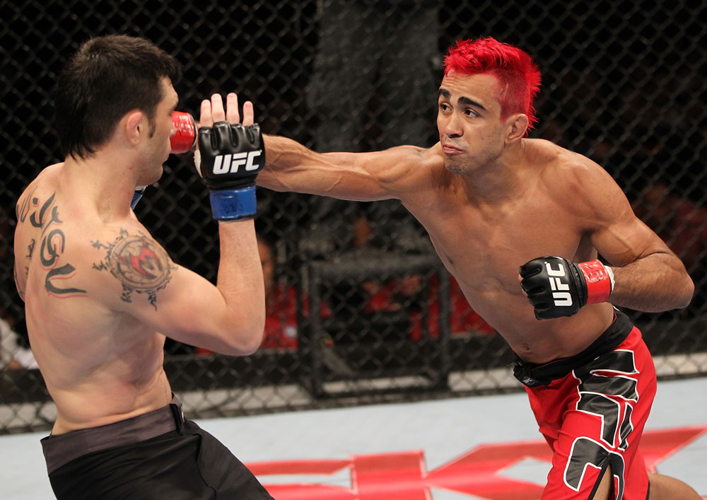 UFC featherweight Godofredo Pepey