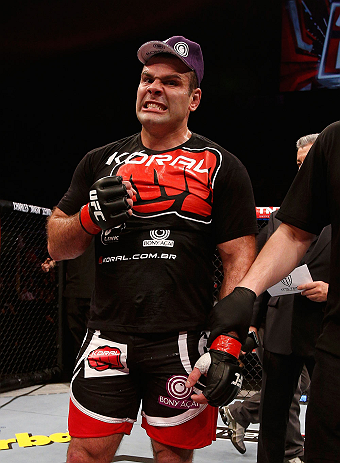UFC heavyweight Gabriel Gonzaga