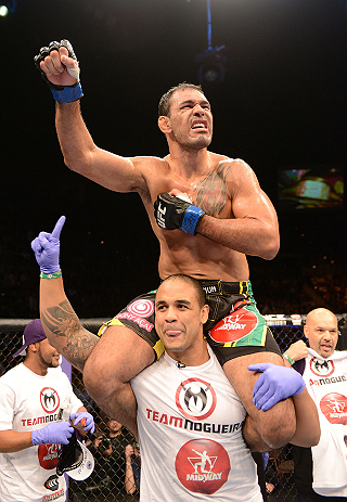 Nogueira Tries to Write His Rocky Story