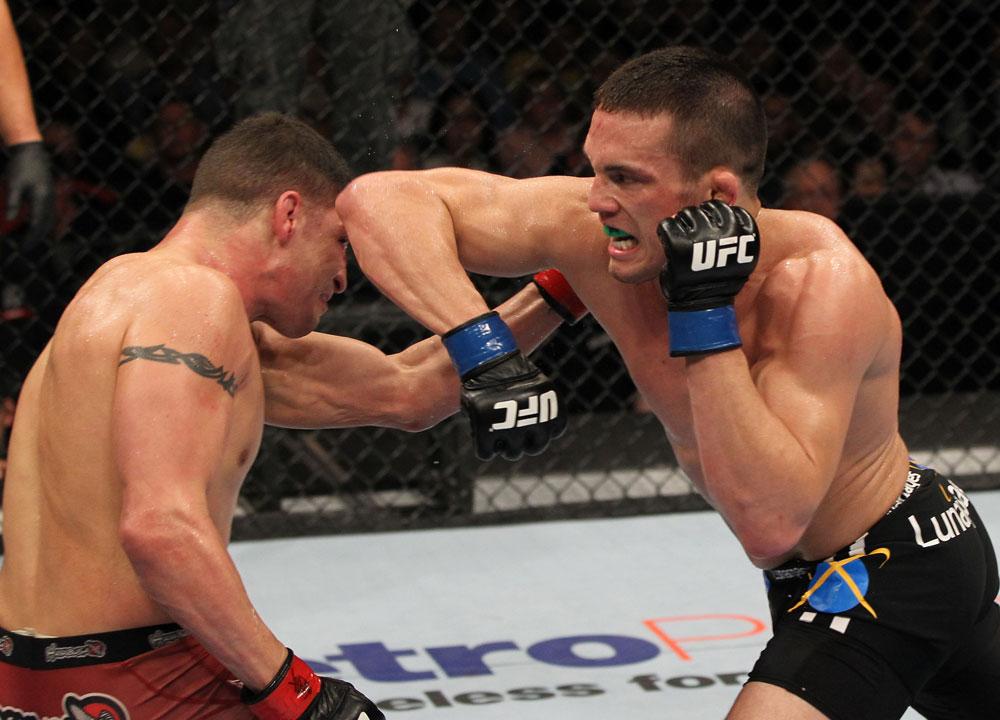 UFC welterweight Jake Ellenberger