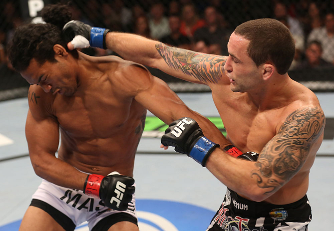 UFC featherweight Frankie Edgar