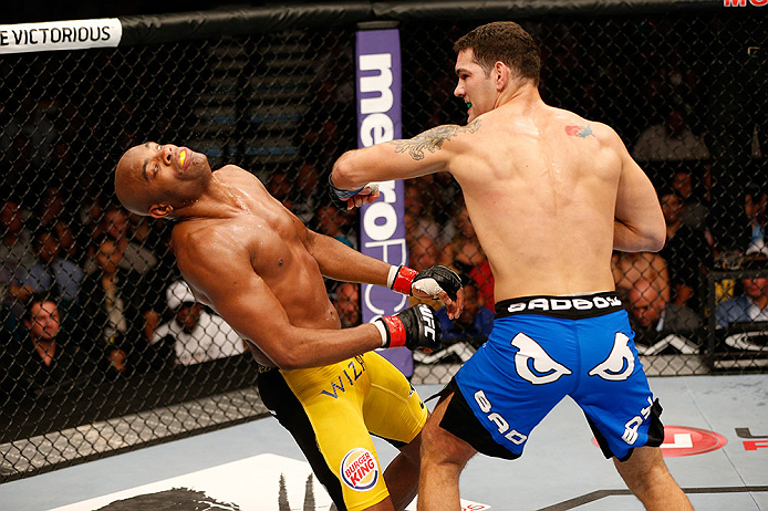 Chris Weidman vs. Anderson Silva