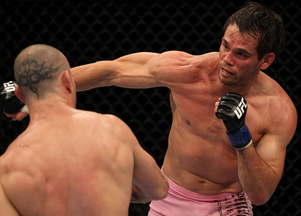 Former UFC middleweight champion Rich Franklin