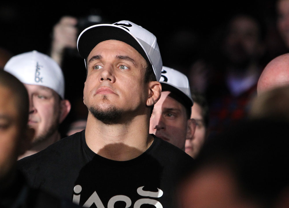 TORONTO, ON - DECEMBER 10:  Frank Mir enters the arena before his bout against Antonio Rodrigo Nogueira during the UFC 140 event at Air Canada Centre on December 10, 2011 in Toronto, Ontario, Canada.  (Photo by Josh Hedges/Zuffa LLC/Zuffa LLC via Getty Images)