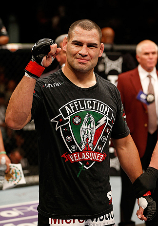 UFC heavyweight champion Cain Velasquez