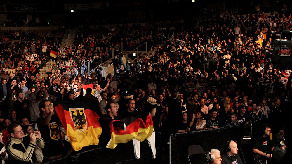 General View during UFC 122 at the Konig Pilsner Arena on November 13, 2010 in Oberhausen, Germany. (Photo by Josh Hedges/Zuffa LLC/Zuffa LLC via Getty Images)