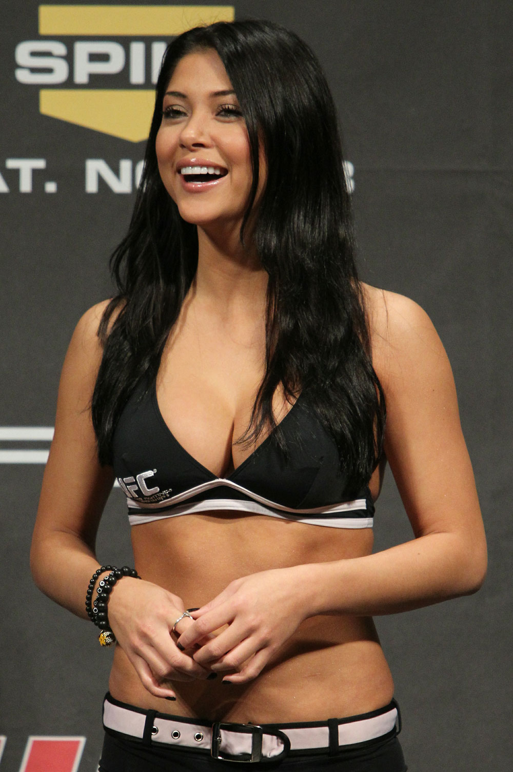 Ufc octagon girl arianny celeste really