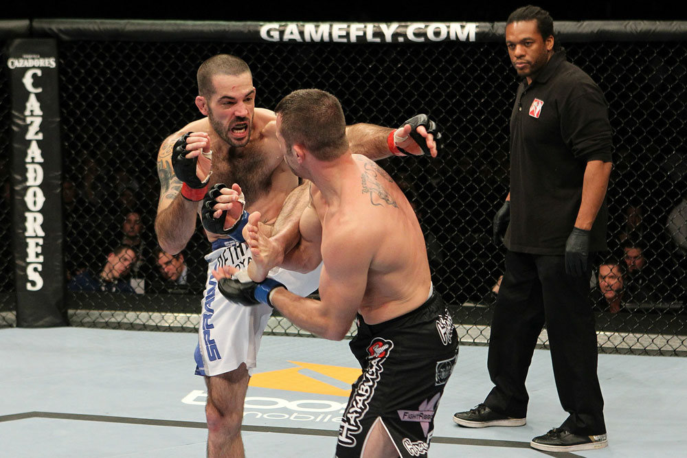 UFC 123: Matt Brown vs. Brian Foster