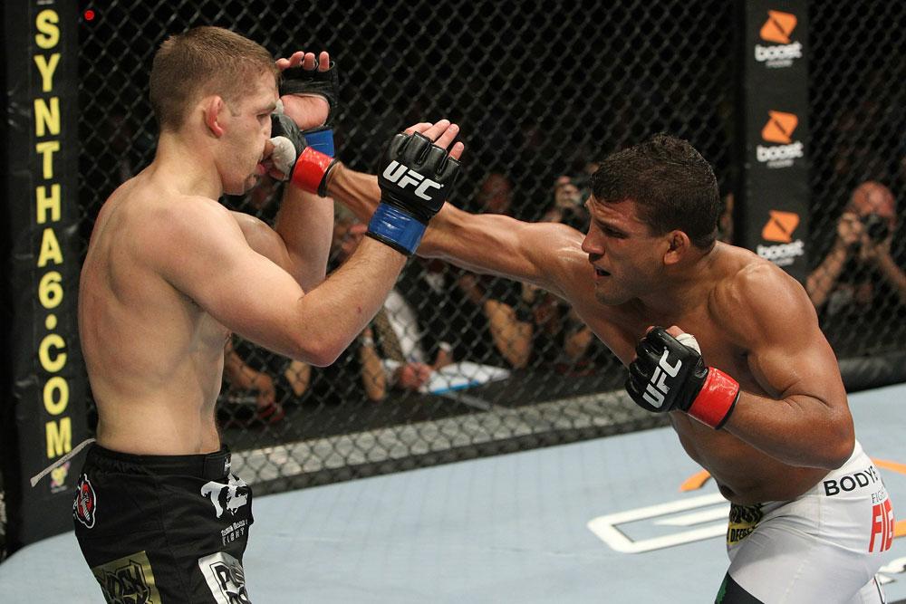 UFC123: Tyson Griffin vs. Nik Lentz