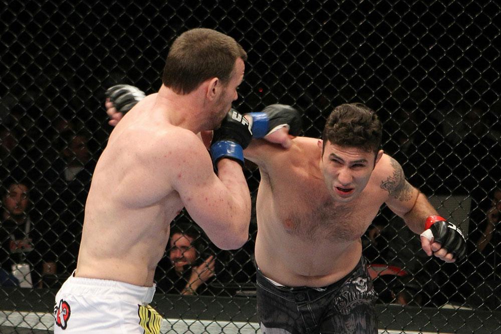 UFC 123: Dennis Hallman vs. Karo Parisyan