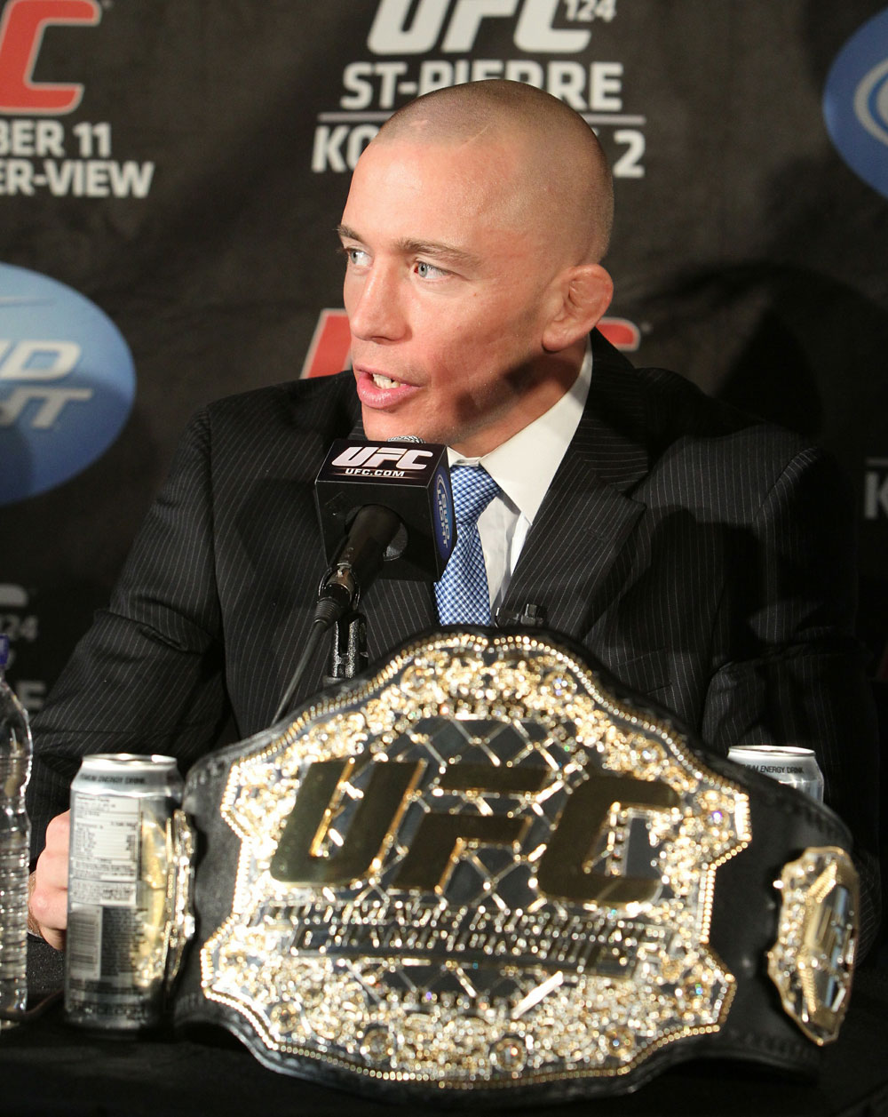 UFC 124 Press Conference: Georges St-Pierre