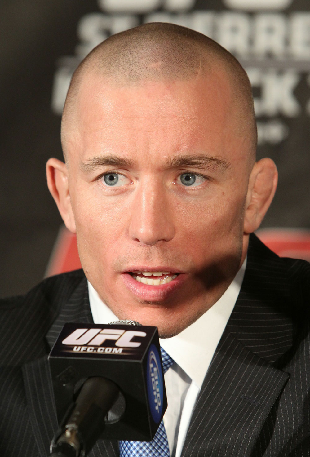 UFC 124 Press Conference: George St-Pierre