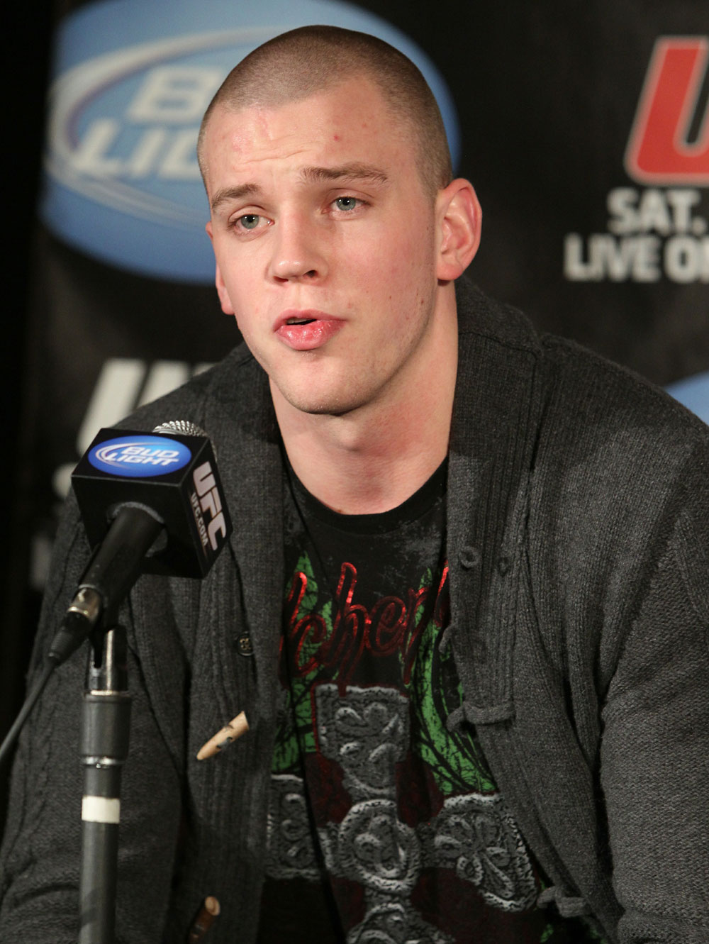 UFC 124 Press Conference: Stefan Struve