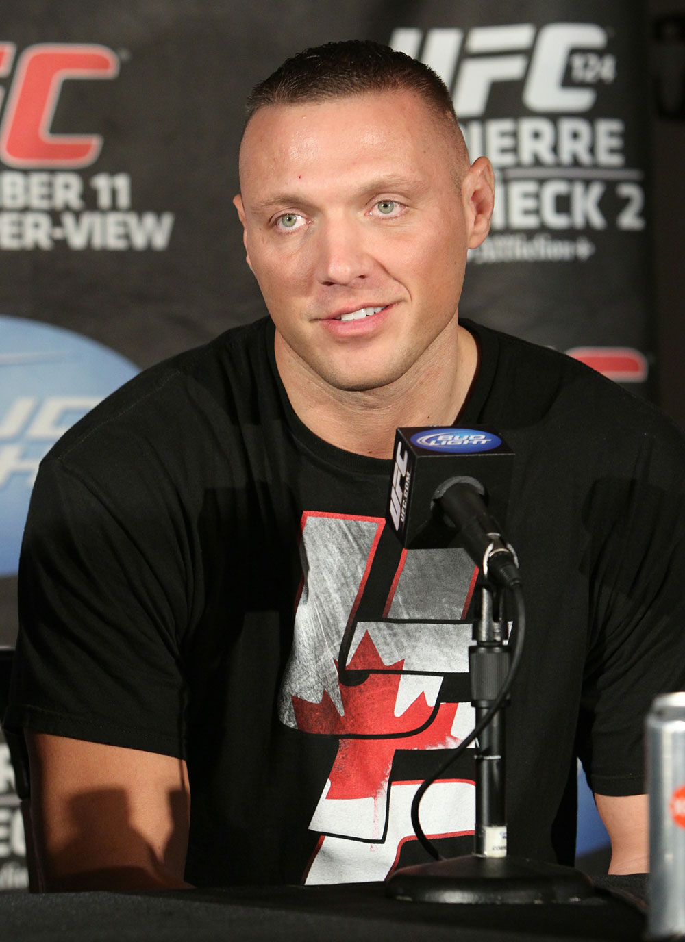 UFC 124 Press Conference: Sean McCorkle