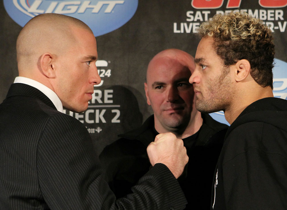 UFC 124 Press Conference: St-Pierre vs. Koscheck