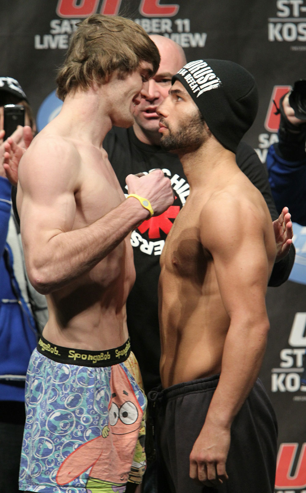 UFC 124 Weigh-in: Audinwood vs. Makdessi