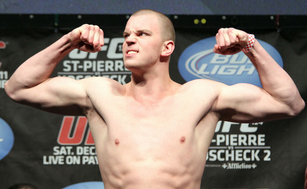 UFC 124 Weigh-in: Stefan Struve weighs in at 253lbs.