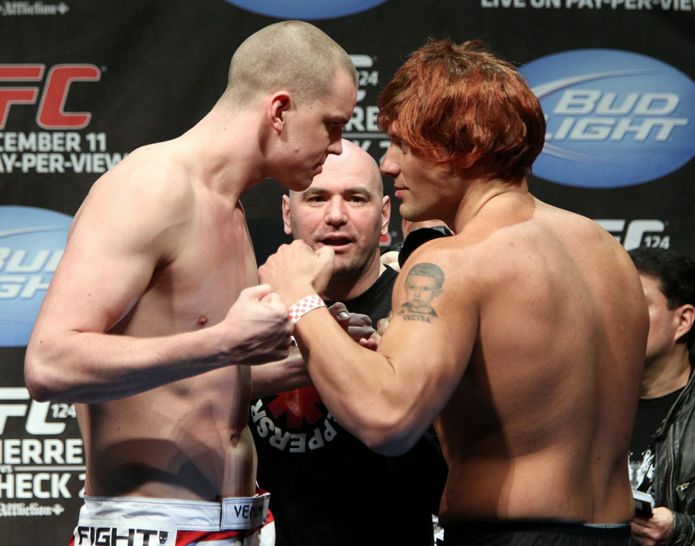 UFC 124 Weigh-in: Struve vs. McCorkle