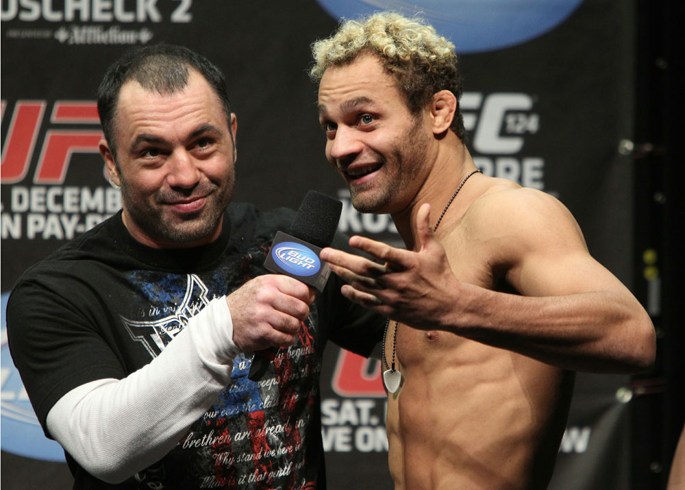 UFC 124 Weigh-in: Josh Koscheck talks about how he expects the fight to go tomorrow night.