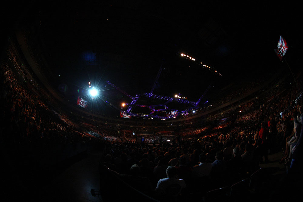 SYDNEY, AUSTRALIA - MARCH 03:  A general view of the arena during the UFC on FX event at Allphones Arena on March 3, 2012 in Sydney, Australia.  (Photo by Josh Hedges/Zuffa LLC/Zuffa LLC via Getty Images)