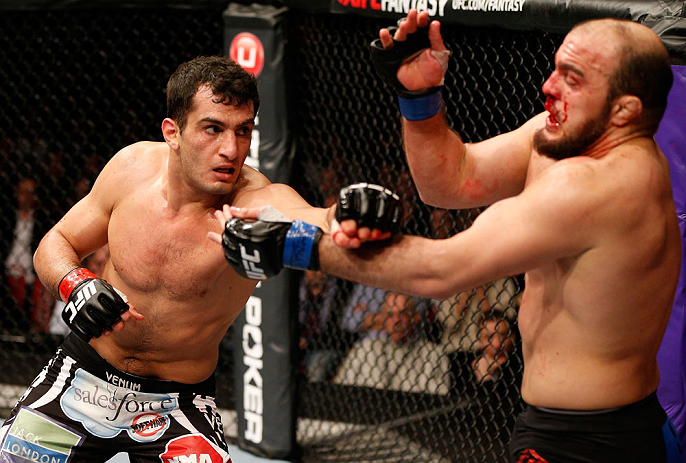 UFC middleweight Gegard Mousasi
