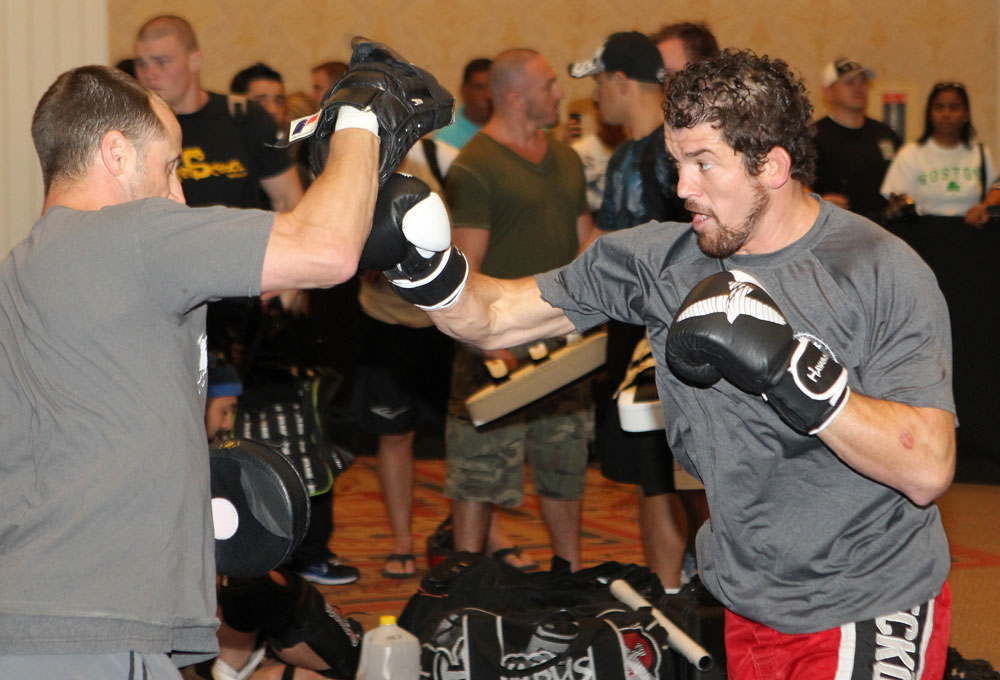 UFC 132 Open Workouts: Shane Roller