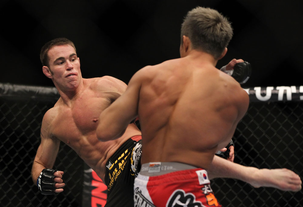 UFC middleweight Jake Shields