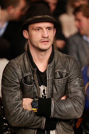 LONDON, ENGLAND - FEBRUARY 16:  UFC bantamweight contender Brad Pickett attends the UFC on Fuel TV event on February 16, 2013 at Wembley Arena in London, England.  (Photo by Josh Hedges/Zuffa LLC/Zuffa LLC via Getty Images)