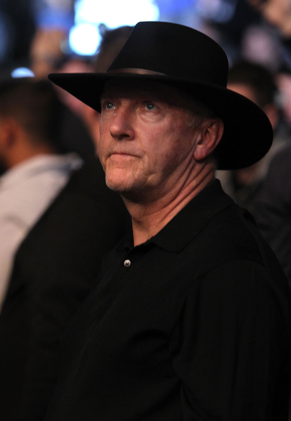 TORONTO, ON - DECEMBER 10:  Toronto Maple Leafs head coach Ron Wilson attends the UFC 140 event at Air Canada Centre on December 10, 2011 in Toronto, Ontario, Canada.  (Photo by Josh Hedges/Zuffa LLC/Zuffa LLC via Getty Images)