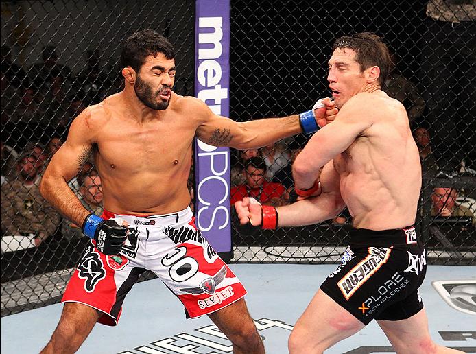 UFC middleweight Rafael Natal