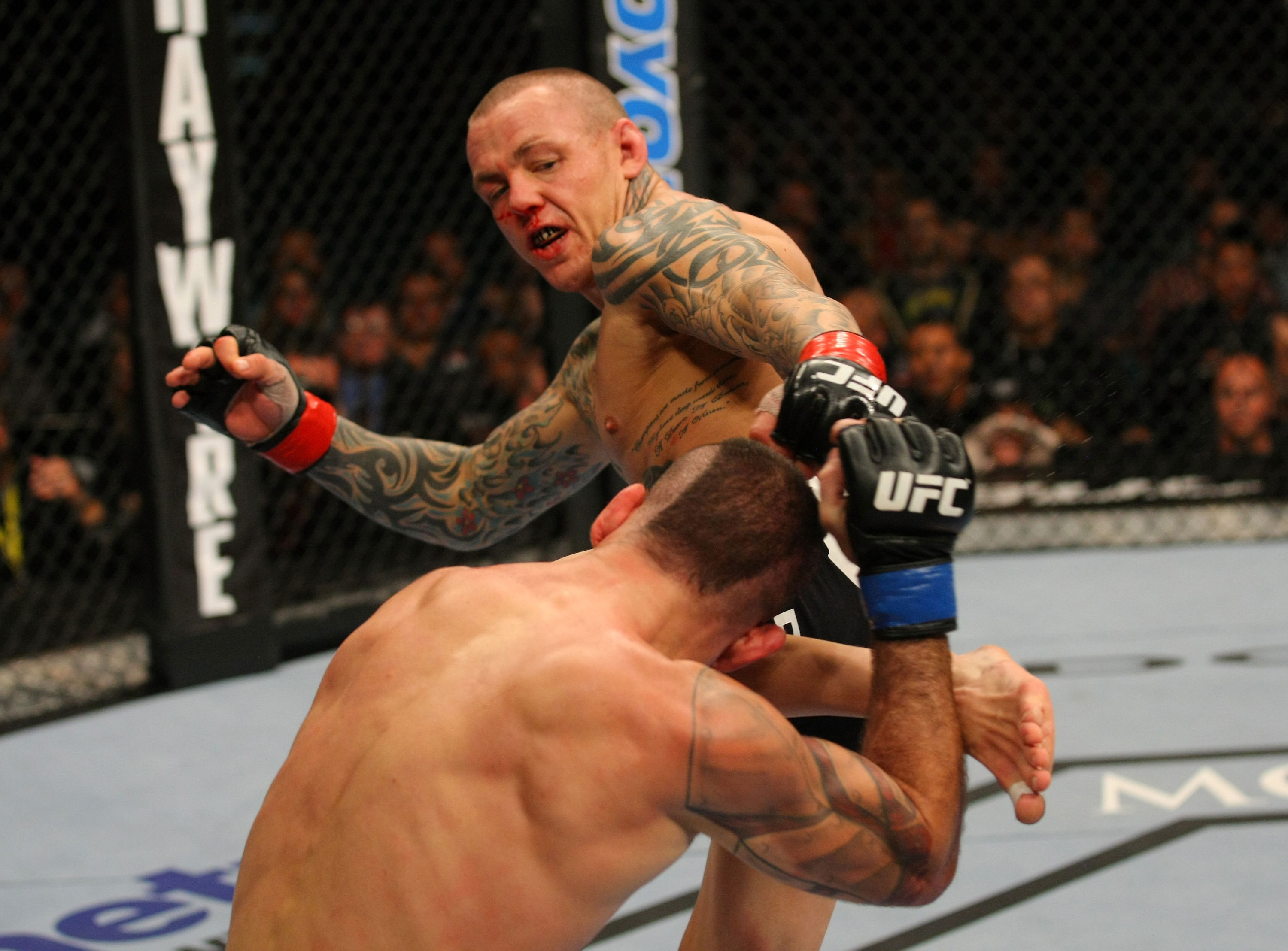UFC featherweight Ross Pearson