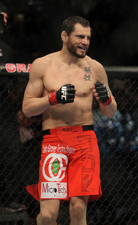 UFC welterweight Jon Fitch