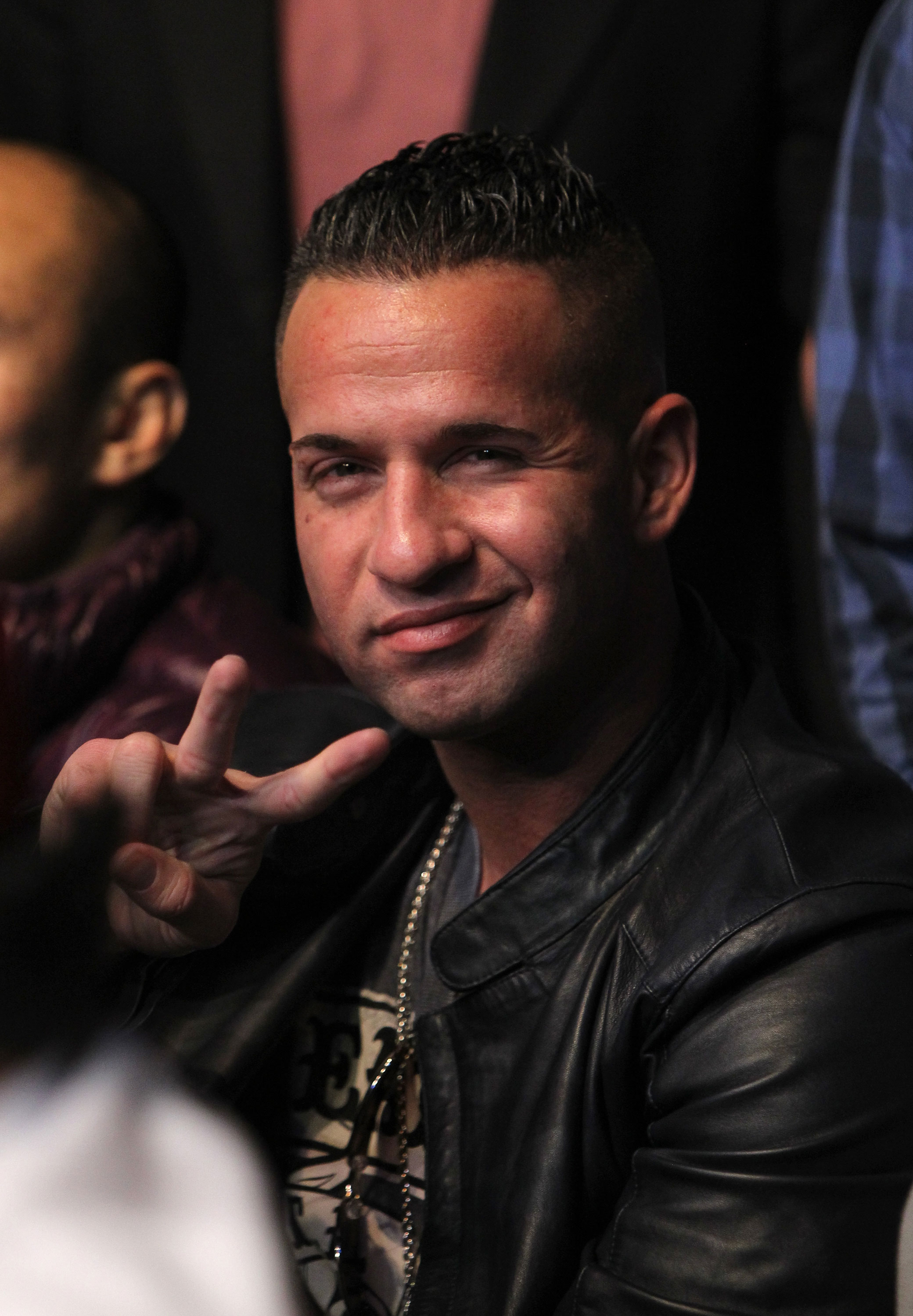 "LAS VEGAS, NV - DECEMBER 30:  Mike ""The Situation"" Sorrentino during the UFC 141 event at the MGM Grand Garden Arena on December 30, 2011 in Las Vegas, Nevada.  (Photo by Josh Hedges/Zuffa LLC/Zuffa LLC via Getty Images) *** Local Caption *** Mike Sorrentino"