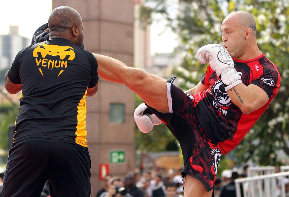 UFC superstar Wanderlei Silva