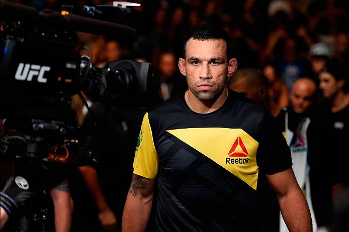 CLEVELAND, OH - SEPTEMBER 10:  Fabricio Werdum of Brazil enters the arena prior to facing Travis Browne in their heavyweight bout during the UFC 203 event at Quicken Loans Arena on September 10, 2016 in Cleveland, Ohio. (Photo by Josh Hedges/Zuffa LLC/Zuffa LLC via Getty Images)