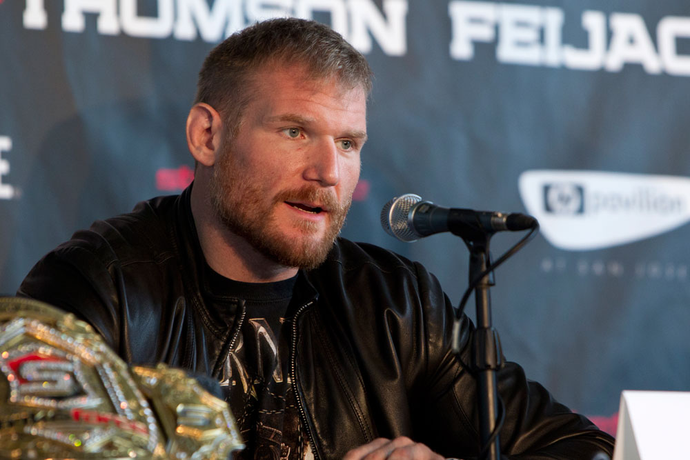 Strikeforce heavyweight Josh Barnett