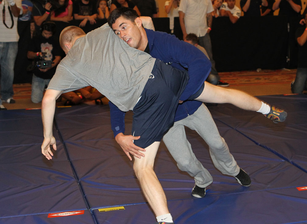 UFC 132 Open Workouts: Dominick Cruz