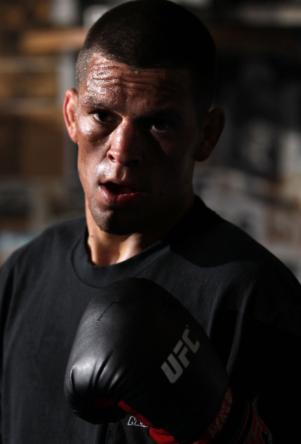 UFC lightweight Nate Diaz
