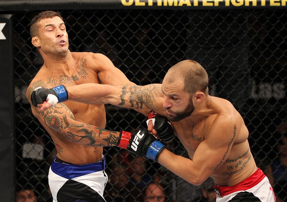 UFC featherweight Sam Sicilia